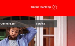 Sparkassen Limit ändern - Schritt 1: Einloggen