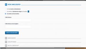 Loggen Sie sich ein oder erstellen Sie einen neuen Kundenaccount für LIDL.de