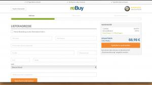Speichern Sie Ihre Kundendaten bei reBuy