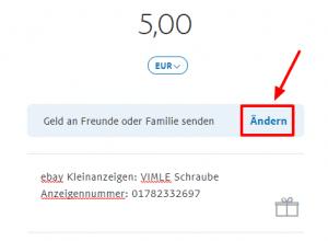 ebay kleinanzeigen mit paypal bezahlen