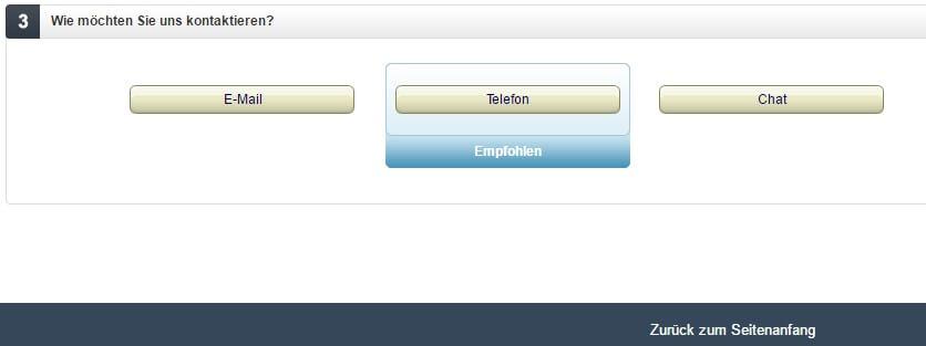 Amazon-Kontaktmöglichkeit-auswählen