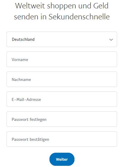 PayPal ist kostenfrei.
