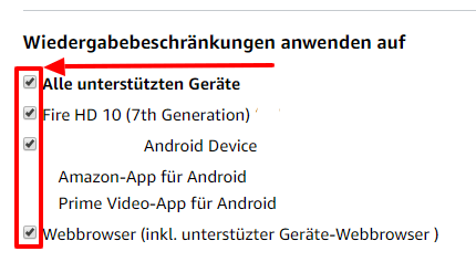 PIN ändern bei Amazon Video