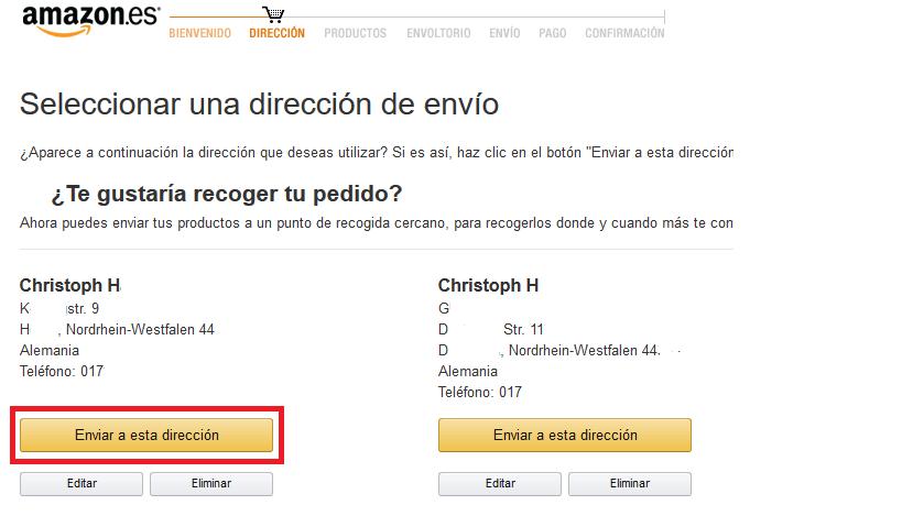 im spanischen amazon bestellen