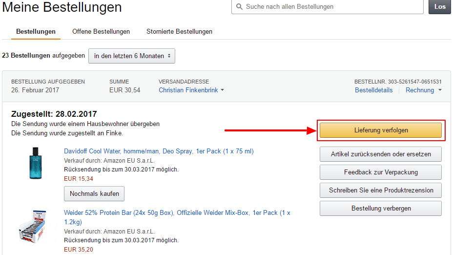 tipp paket von amazon nicht angekommen das k nnen sie tun. Black Bedroom Furniture Sets. Home Design Ideas