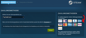 Paysafecard Steam