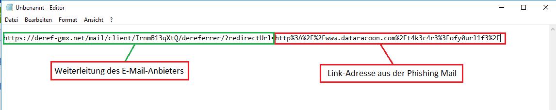 So erkennen Sie die Phishing Mail
