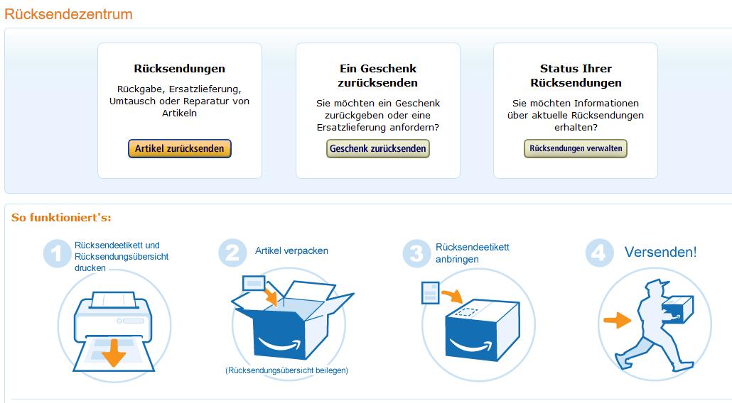 Amazon gutschein rückerstattung