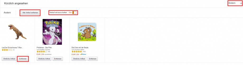 Amazon-Browserverlauf-loeschen