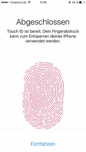 Biometrische Daten gelten nicht als sicherer als ein Code.
