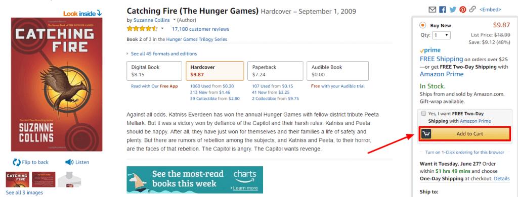 Bei Amazon.com lohnt es sich meist nur Bücher zu kaufen.