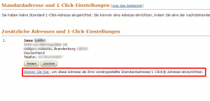 amazon-1-Click-festlegen