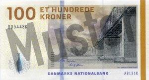 Daenemark-DKK-100-Kronen-Vorne