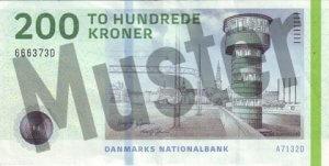 Daenemark-DKK-200-Kronen-Vorne