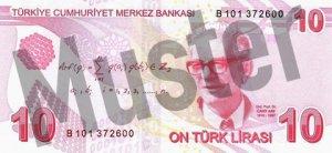 Tuerkei-TRY-10-Lira-Hinten
