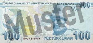 Tuerkei-TRY-100-Lira-Hinten