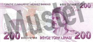 Tuerkei-TRY-200-Lira-Hinten
