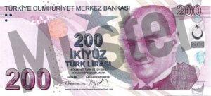 Tuerkei-TRY-200-Lira-Vorne