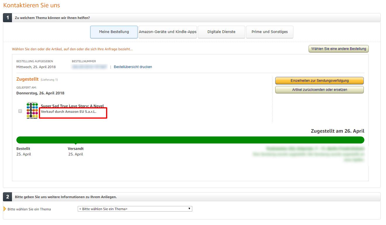 Bestellung Nicht Erhalten Amazon