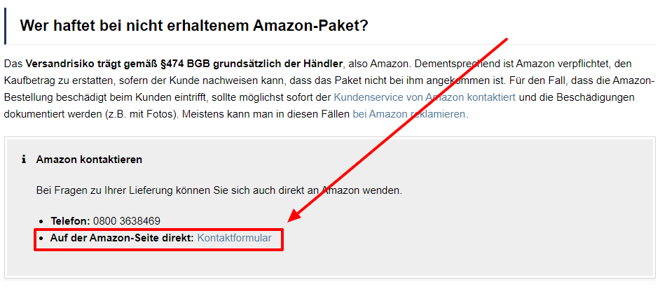 AMAZON VERKÄUFER KONTAKTIEREN AMAZON EU S.A.R.L
