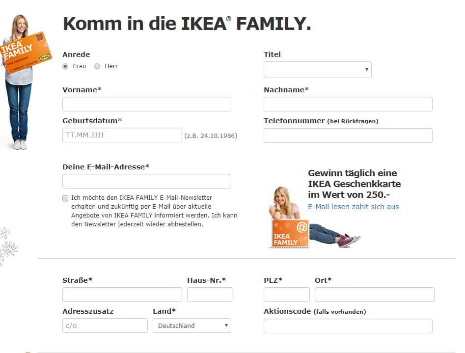Tipp Ikea Family Card Vorteile Konditionen Anmeldung