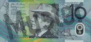 10 australische Dollar (Vorderseite)
