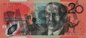 5 australische Dollar (Rückseite)