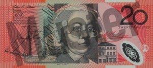 20 australische Dollar (Vorderseite)