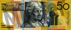 50 australische Dollar (Rückseite)