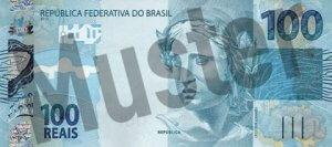 1 brasilianischer Real (Vorderseite)