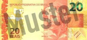 20 brasilianischer Real (Vorderseite)