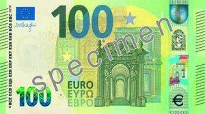 Vorderseite des 100-Euro-Scheins - Quelle: EZB