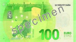 Rückseite des 100-Euro-Scheins - Quelle: EZB