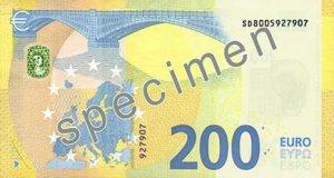 Rückseite des 200-Euro-Scheins - Quelle: EZB