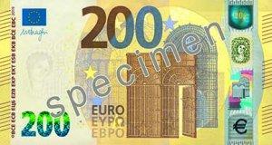 Vorderseite des 200-Euro-Scheins - Quelle: EZB
