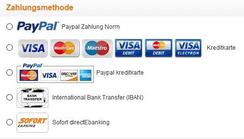 Sie können bei Coolicool mit Kreditkarte bezahlen