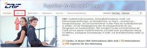 """Für die kostenlose Selbstauslunft klicken Sie zuerst auf """"über uns"""" auf www.crif.de"""