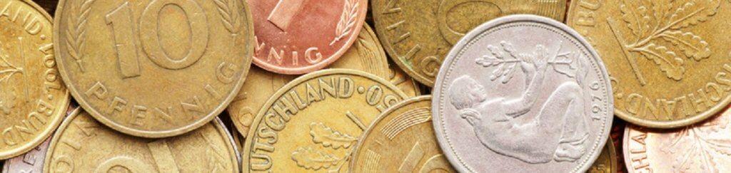 Deutsche Mark-Münzen Wert