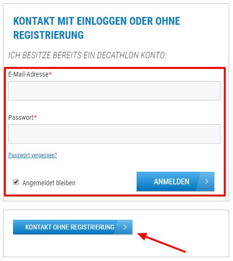 Decathlon Kontakt Kundenservice Hotline E Mail Onlineshop Reklamation