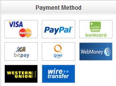 Bei DinoDirect haben Sie viel Zahlungsmöglichkeiten