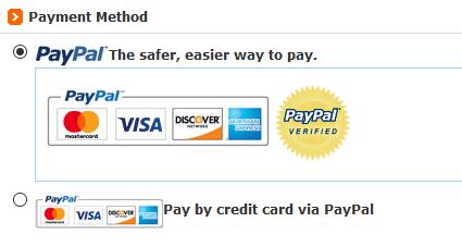 Bei DealMachine können Sie nur über PayPal bezahlen
