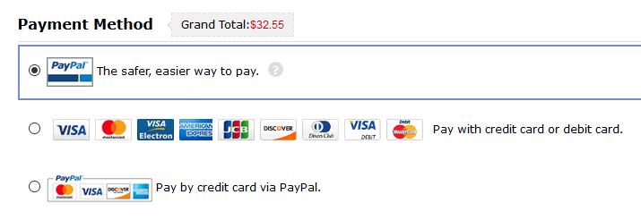 Bei Dresslily können Sie per PayPal bezahlen
