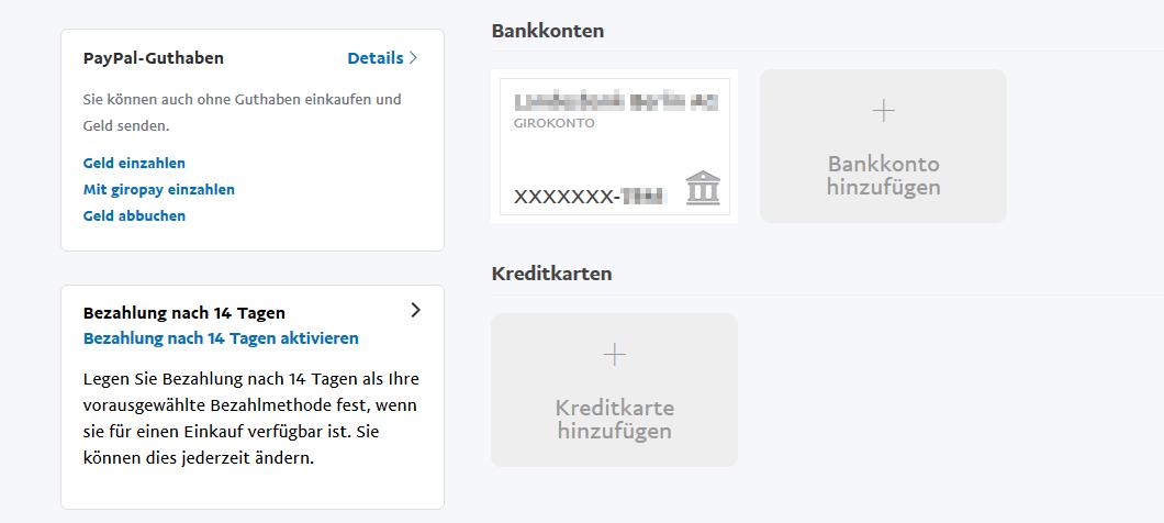 Dieses Bankkonto Kann Keinen Weiteren Paypal-Konten Hinzugefügt Werden.