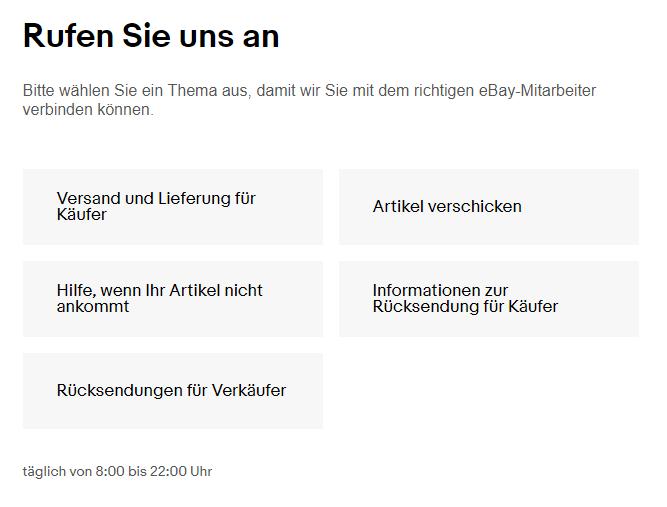 ebay pin generieren