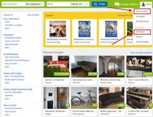 Anzeigennummer finden bei eBay Kleinanzeigen als Käufer