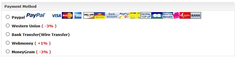 Wenn Sie per WesternUnion bezahlen, bekommen Sie bei ETOtalk Rabatt