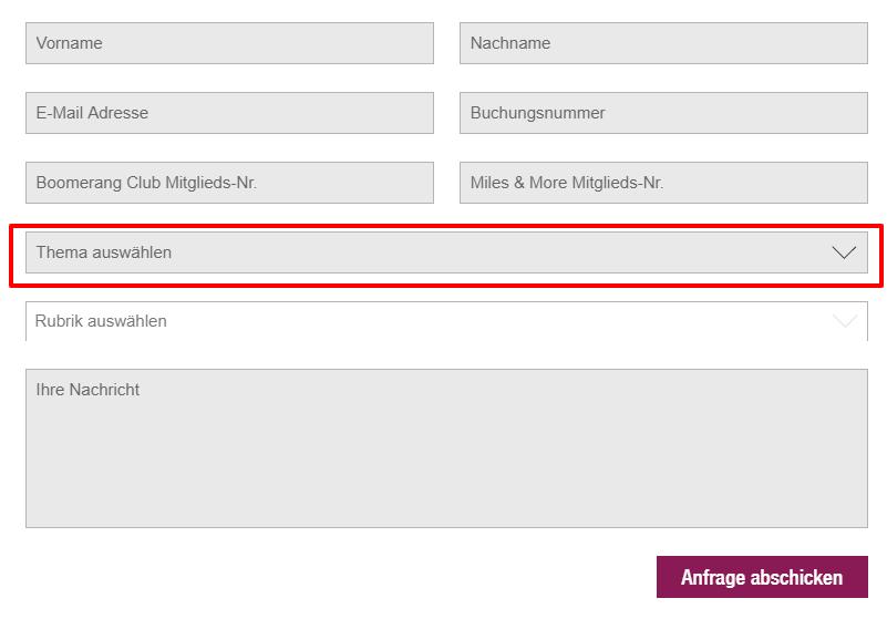 eurowings-kontaktformular
