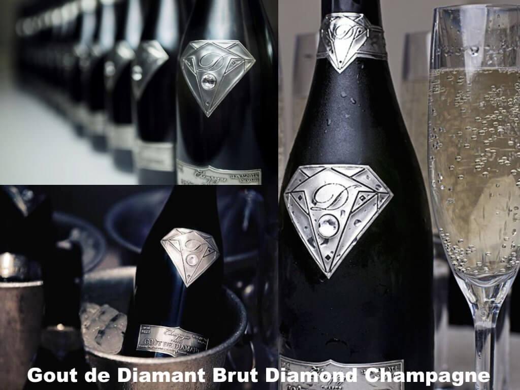 Teuerster Champagner der Welt: Gout de Diamant Brut Diamond Champagner