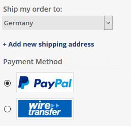 Sie können bei iBuygou mit Paypal bezahlen