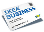 IKEA BUSINESS CARD